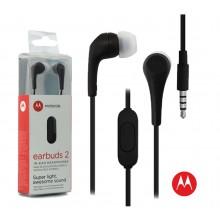 Auricular Motorola EARBUDS 2 (Negro)
