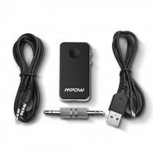 Receptor Bluetooth de Audio MPOW (Negro)