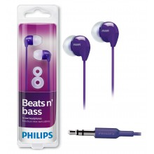 Auricular Philips SHE3590PP (Lila)