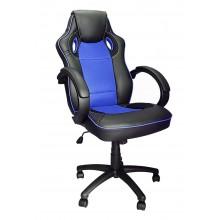 Silla Oficina Estilo Gaming (Azul)