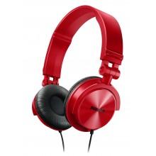 Auricular Philips SHL-3050RD (Rojo)