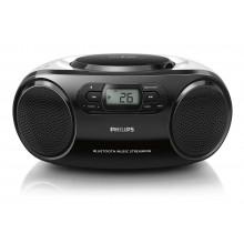 Radio Philips AZ-330T (Blanco-Negro)