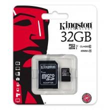 Memoria Micro SD 32GB C10 Kingston