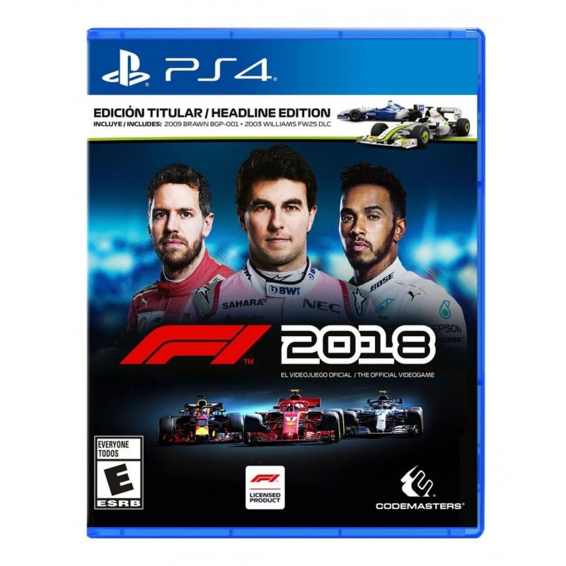 F1 2018 (PS4)