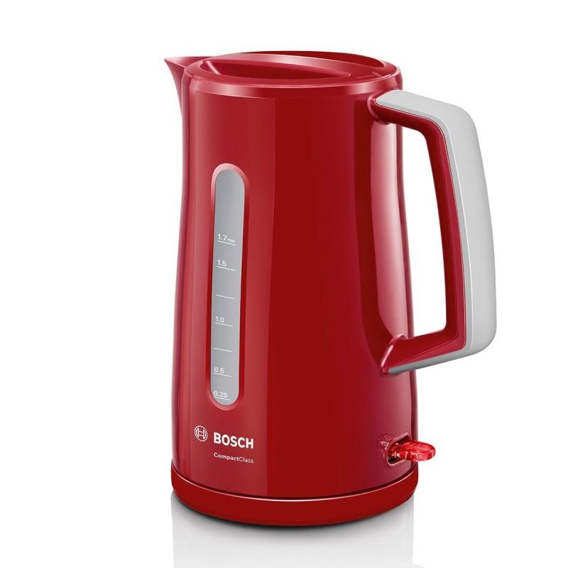 Hervidora 1.7LTS Bosch TWK3A014 (Rojo)