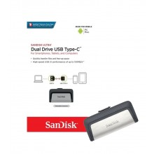 Pendrive 32GB Dual Tipo C a USB 3.1 Sandisk Ultra
