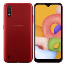Samsung Galaxy A01 32GB Duos (Rojo)