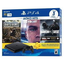 Sony Playstation 4 (3 Juegos incl.) 1TB