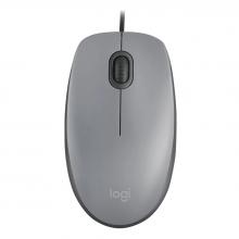 Mouse Logitech M110 (Gris)