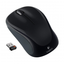 Mouse Wireless Logitech M317 (Negro)