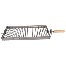 Parrilla Inox plegable doble función y giratorio P-033
