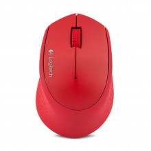 Mouse Wireles Logitech M280 (Rojo)